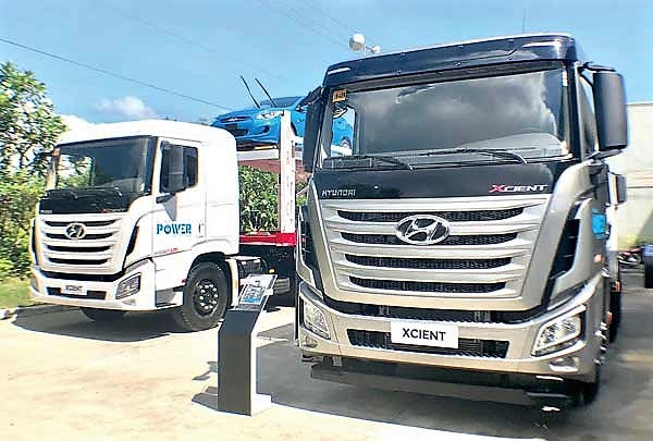 HEAVY DUTY: Hyundai revs up its mobility fleet