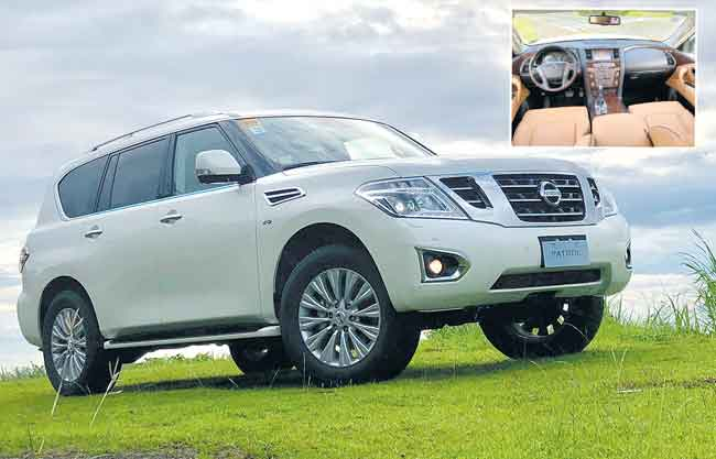 Nissan takes on tough terrain with the PATROL