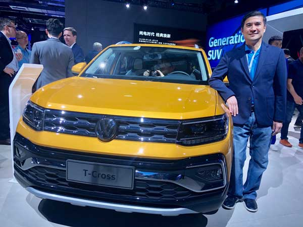Volkswagen group unveils SUV for global market