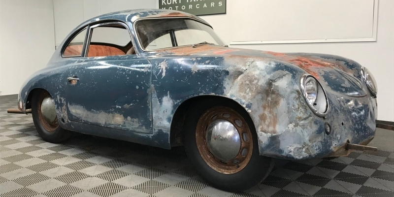 Unrestored Classic Porsche 356s