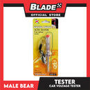 Male Bear Car Voltage Tester STDZ 525-C1