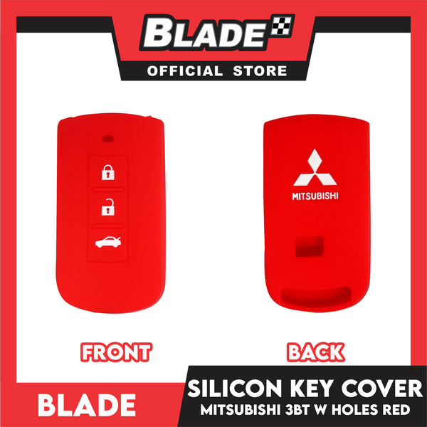 Blade Silicone Key Cover 3-BT (Mitsubishi) Red