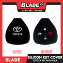 Key Silicon Case Toyota 4 Button 1478-3 Red/ Black
