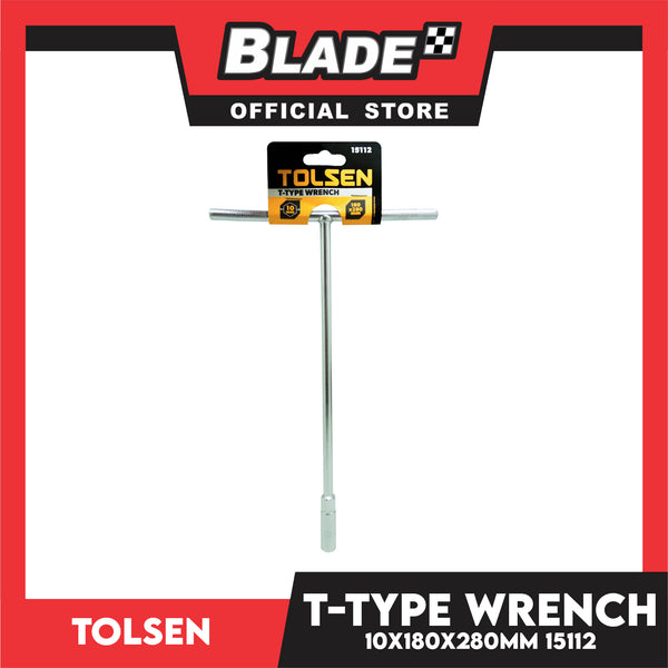 Tolsen T-Type 15112 Wrench 10x180x280mm
