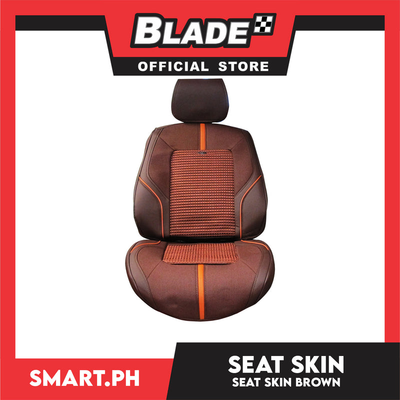Shark Seat Skins with Ice Knit Brown