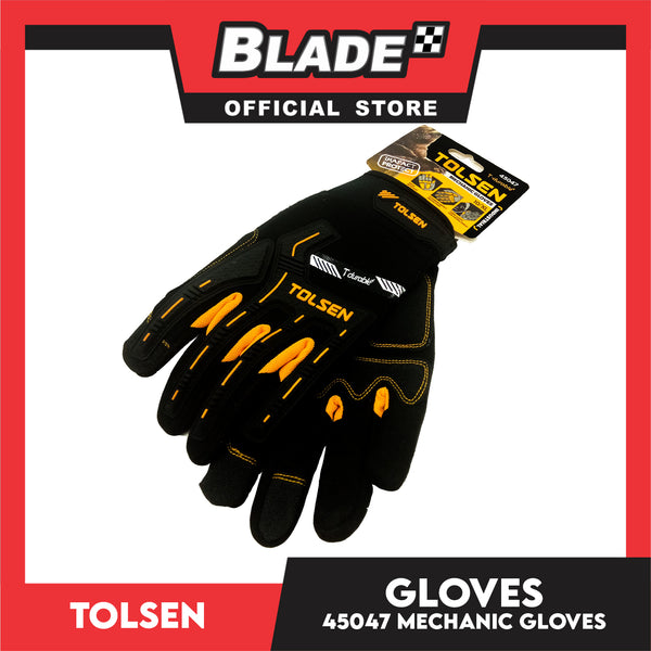 Tolsen Industrial Mechanic Gloves 10/XL 45047 (Black)