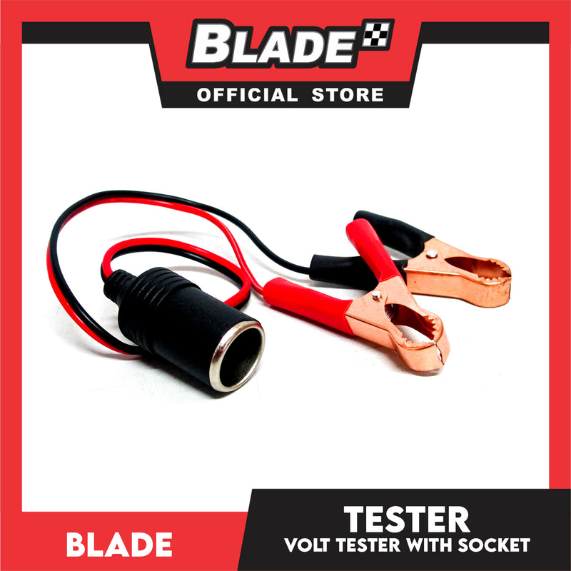 Blade CIG Lighter Plug with Clamp