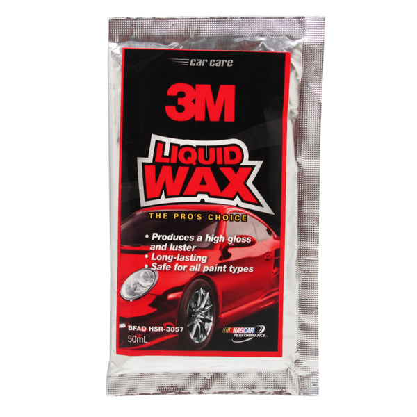 3M Liquid Wax 50mL Sachet