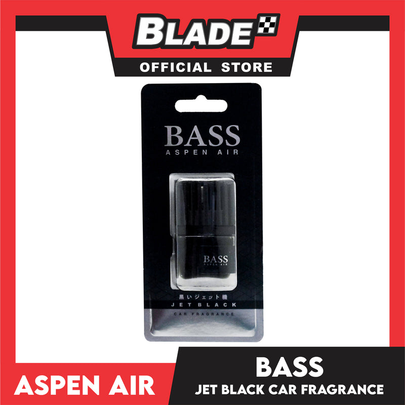 Aspen Air Bass ABS-3062 Jet Black Car Fragrance