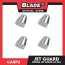 Carfu Nozzle Jet Guard AC-962 (Set of 4) Silver