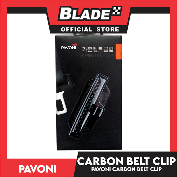 Pavoni Carbon Belt Clip