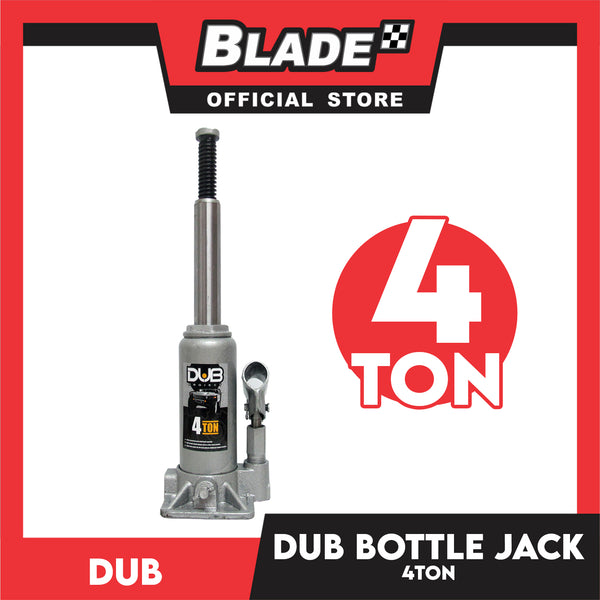 Dub Hydraulic Bottle Jack 4 Ton for Toyota, Mitsubishi, Honda, Hyundai, Ford, Nissan, Suzuki, Isuzu, Kia, MG and more