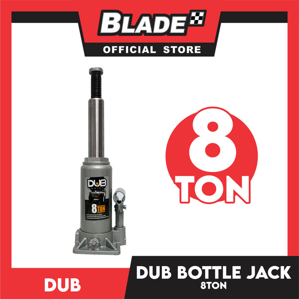 Dub Hydraulic Bottle Jack 8 Ton for Toyota, Mitsubishi, Honda, Hyundai, Ford, Nissan, Suzuki, Isuzu, Kia, MG and more