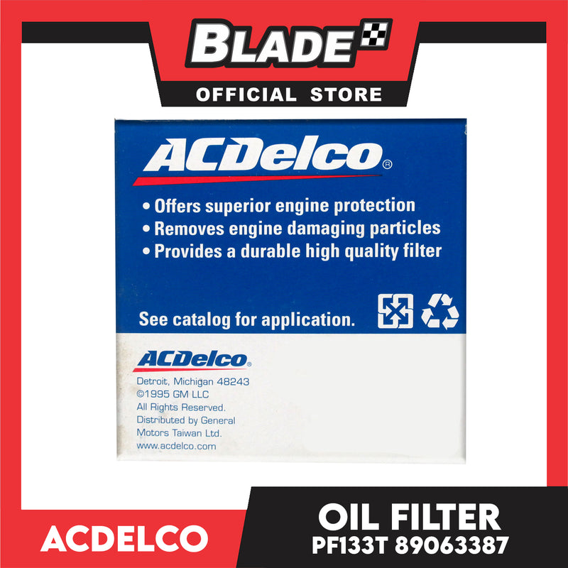 ACDelco Oil Filter PF133T 89063387 for Ford
