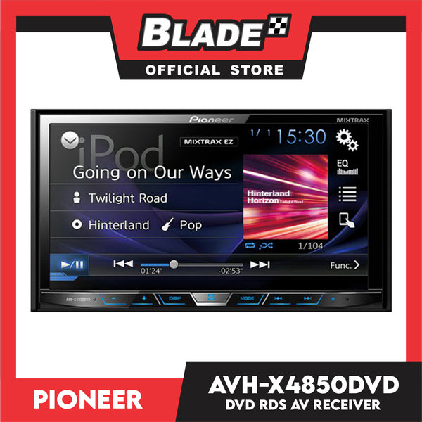 "Pioneer AVH-X4850DVD 7"" WVGA Touchscreen Display"