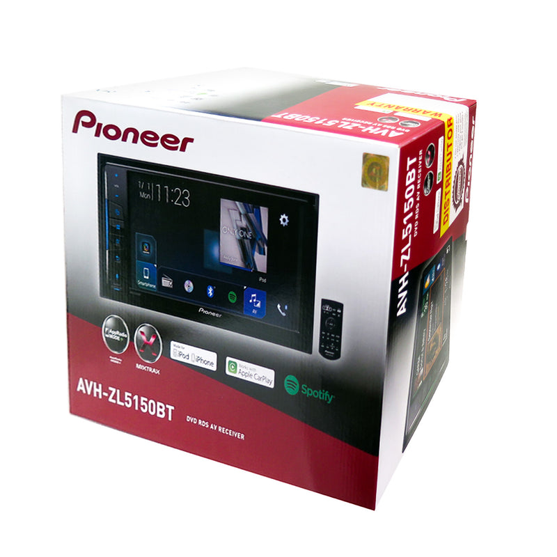 "Pioneer AVH-ZL5150BT 7"" 200mm DVD AV Receiver with Apple CarPlay and Android Auto"