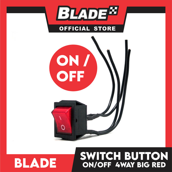 Blade Switch 4-Way Red Button Big