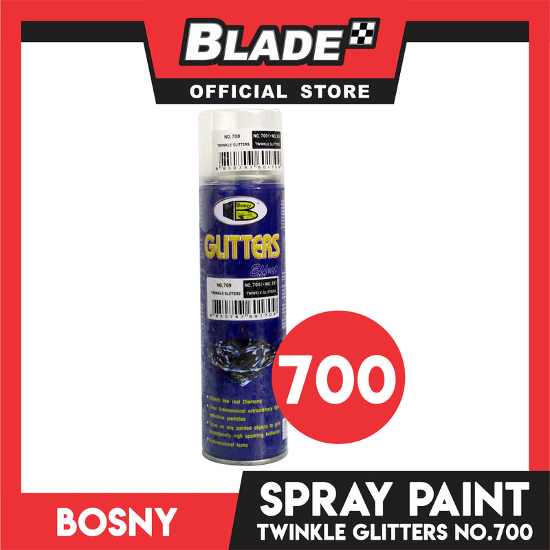 Bosny Spray Paint Glitters effect Twinkle