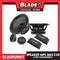Blaupunkt Velocity Power 2-Way Components Speakers MPS 1662 C30