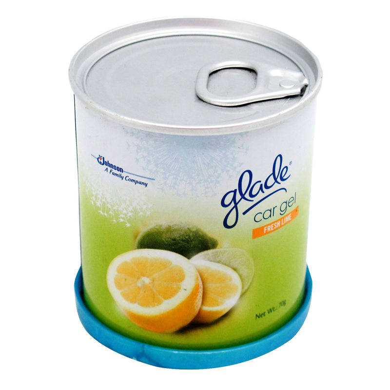 Glade Car Gel (Fresh Lime) 70g