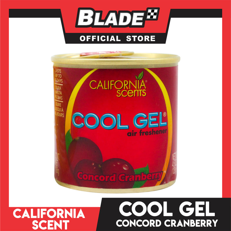 California Scent Cool Gel Air Freshener (Concord Cranberry)