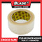 "Croco Tape Clear Packaging Tape 2"" x 100M (Clear) Bundle of 12"