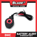 DHC EverSmart Battery Alert BM-1 Black/Red