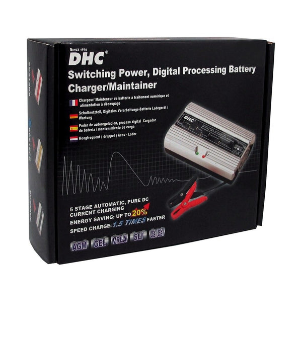 DHC Digital Processing Battery Charger SC212PE 12Amp