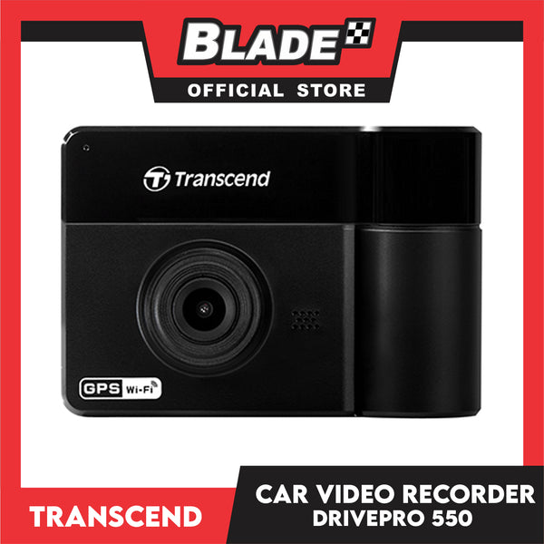 Transcend DrivePro 550 Car Video Recorder 64gb with Car Suction Mount