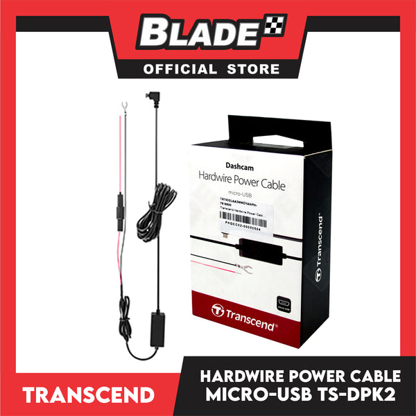 Transcend TS-DPK2 Micro-USB Hardwire Power Cable