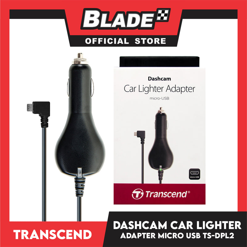 Transcend Dashcam Micro-USB Car Lighter Adapter TS-DPL2