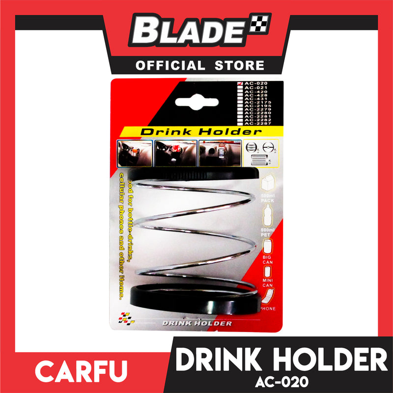 Carfu Drink Holder Spring Type AC-020