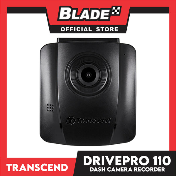 Transcend DrivePro 110 Dash Camera Recorder 32gb with Suction Mount