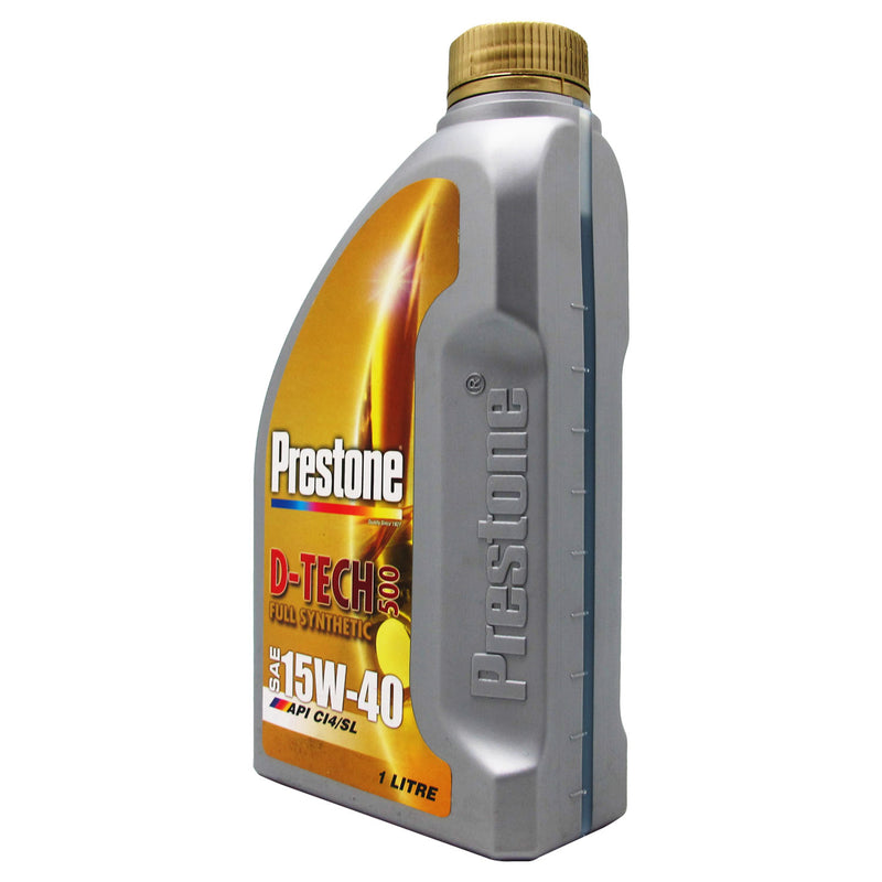 Prestone D-Tech 500 Full Synthetic SAE 15W-40 1L