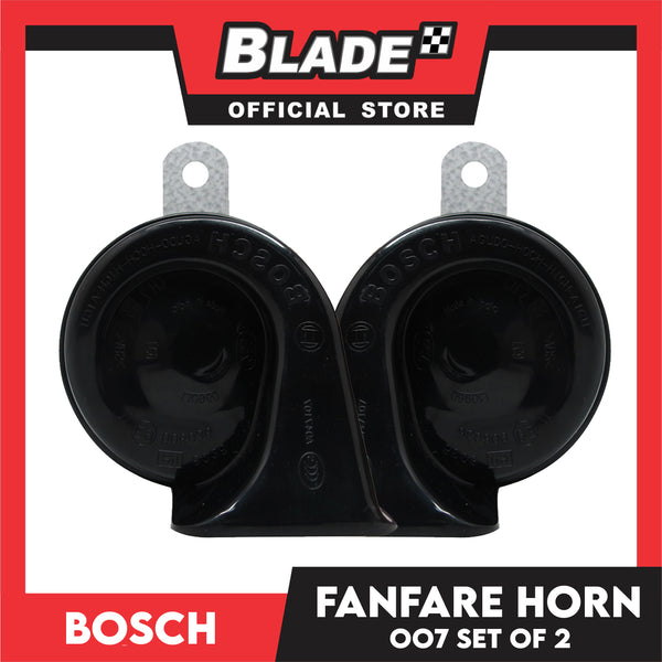 Bosch Fanfare Horn 007 12V Set of 2