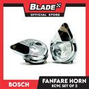 Bosch EC9C Fanfare Wafer Horn Set of 2 (Silver)