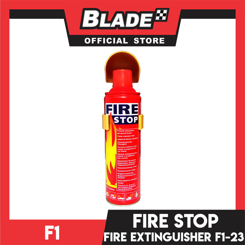 F1 Fire Stop Car Fire Extinguisher F1-23 500ml