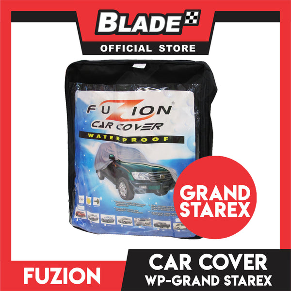 Fuzion Car Cover  Waterproof FCC-800 (Grey) for Grand Starex
