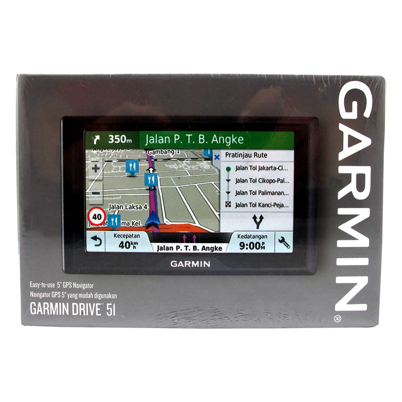 Garmin DVR Drive 51 Easy-to-Use GPS Navigator