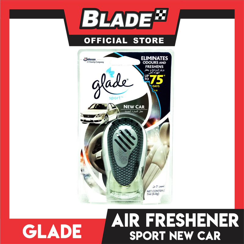 Glade Sport Car Freshener 7mL (New Car)
