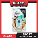 Glade Sport Car Freshener (Ocean Escape) Air Freshener 7mL