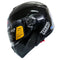 HIRO Helmet HD-701 Gloss Black (Modular)