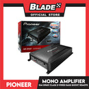 Pioneer GM-D9601 Class D Mono Amplifier with Wired Bass Boost Remote