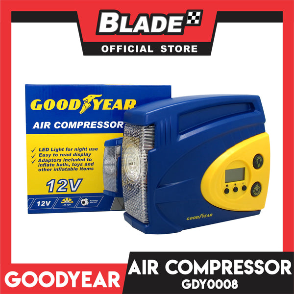 Goodyear GDY0008 Air Compressor 100 PSI 12V