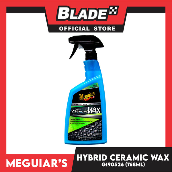 Meguiar's Hybrid Ceramic Wax Easy to Use Ceramic Wax Protection G190526 26oz 768ml