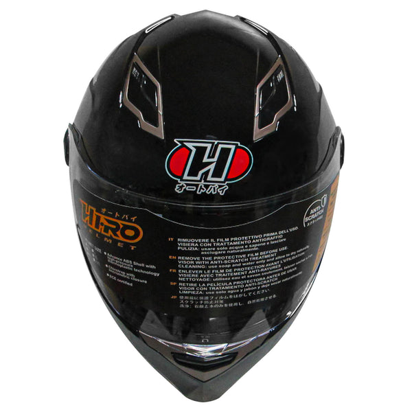 HIRO Helmet HD-096 Gloss Black (Full face)