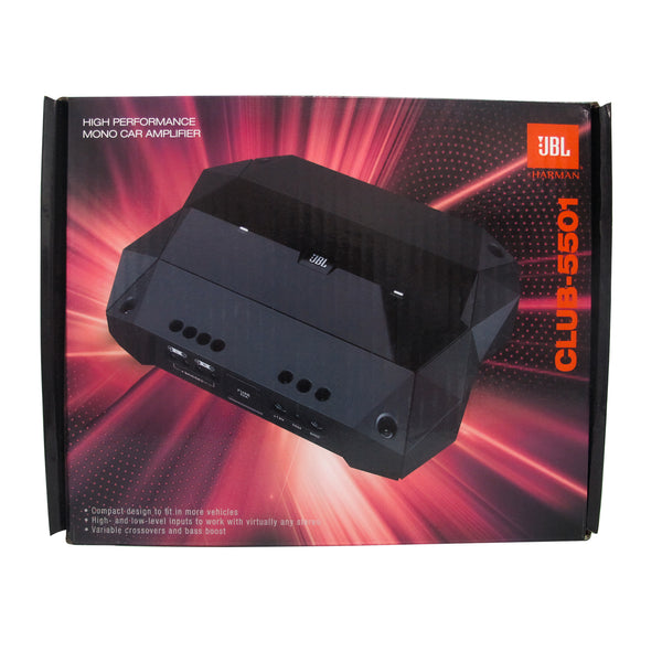 JBL Amplifier Mono Club 5501 High Performance