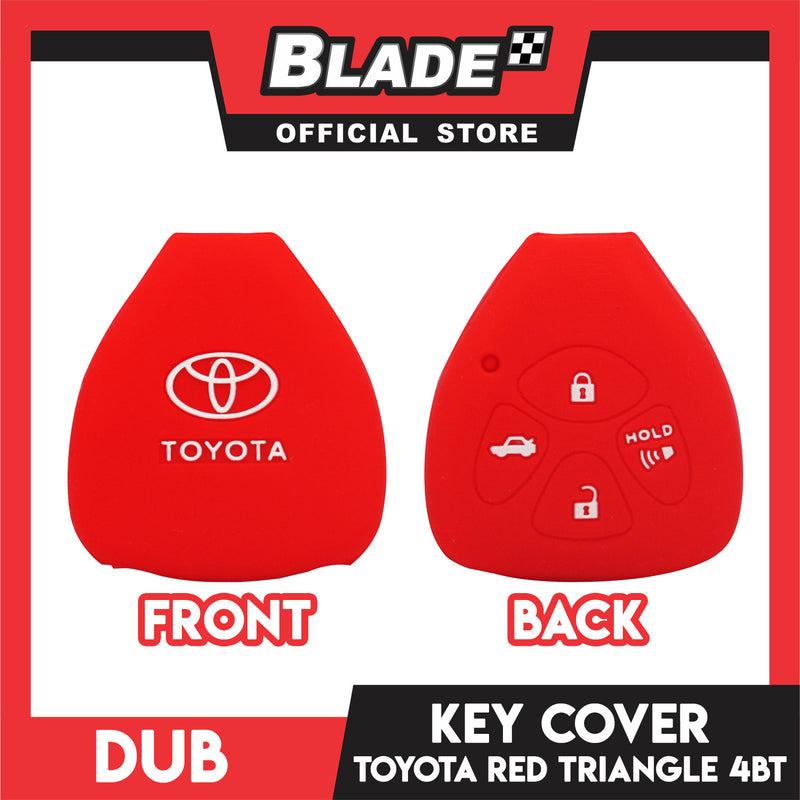 Dub Key Silicon Case for Toyota 4 Button