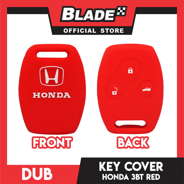 Dub Key Silicon Case for Honda 3 Button