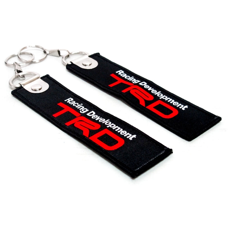 Keychain Cloth Tag TRD Set of 2